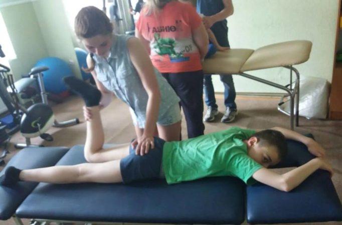Реабiлiтацiю проводить студентка групи ЗЛ-33 Олександра Буцик
