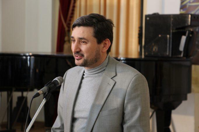 Слово до учасників виголошує професор Андрій Сташевський (Полтава)