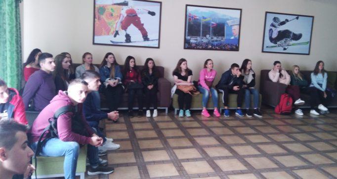 Студенти на зустрiчi з провiдними спецiалiстами Центру
