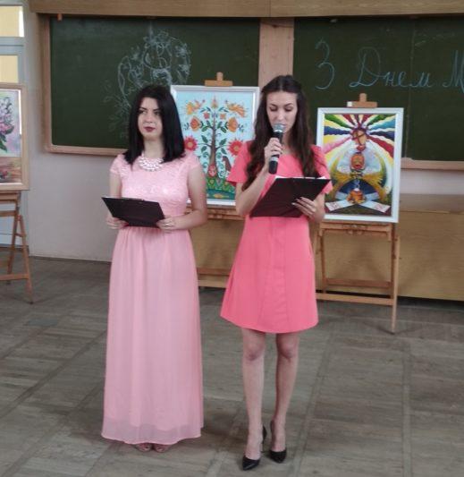 Ведучі свята Ольга Штангрет і Тетяна Лапунька