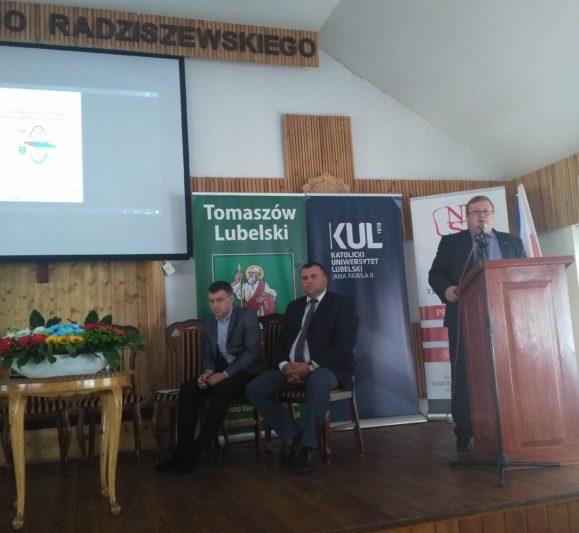 Виступає помічник ректора з міжнародної співпраці Католицького університету Анджей Шабачюк