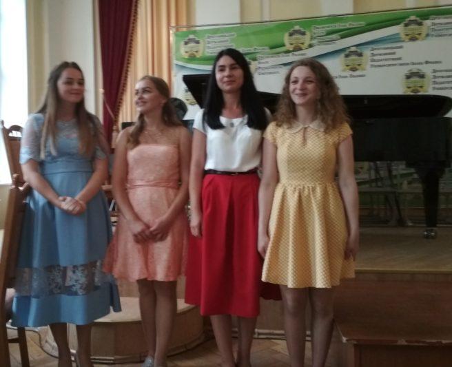 Зліва направо: Ілона Рудницька, Ірина Лужецька, Юлія Осмачко, Ольга Мичко