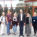 Дрогобичани разом з колегами Анною Янкіш-Зацни та Аґнєшкою Ґіштерович з Краківського економічного університету