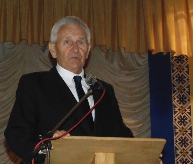 Вітає академічну спільноту ректор Державної вищої професійної школи імені Вітелона в м. Легніца у 1998 – 2007 рр. Станіслав Домбровскі