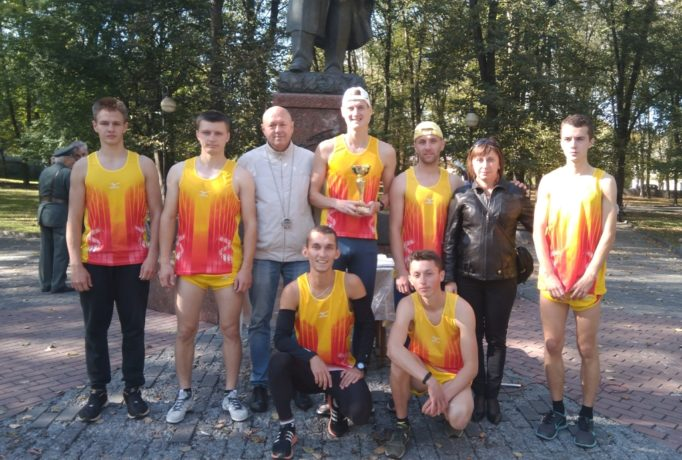 Команда ДДПУ - переможець естафети