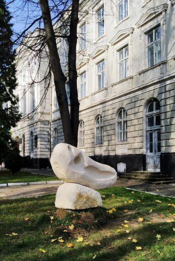 Скульптурна композиція «Точки дотику»