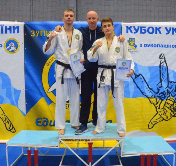 Мар`ян Гуржій (перший зліва)